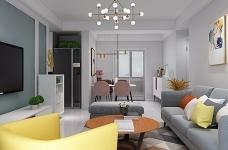 业主一家决定用北欧的简洁清爽开启崭新的生活。在简洁的空间里,通过巧妙地利用原始案例,营造出一个清爽舒适的氛围感图_2