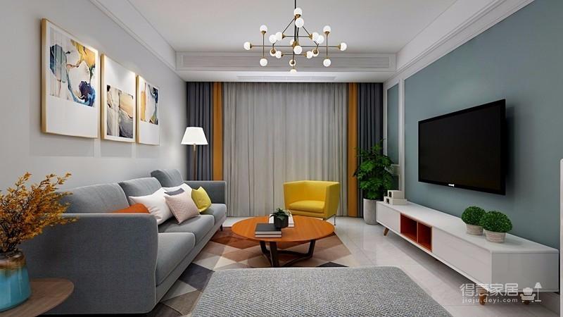 业主一家决定用北欧的简洁清爽开启崭新的生活。在简洁的空间里,通过巧妙地利用原始案例,营造出一个清爽舒适的氛围感图_1