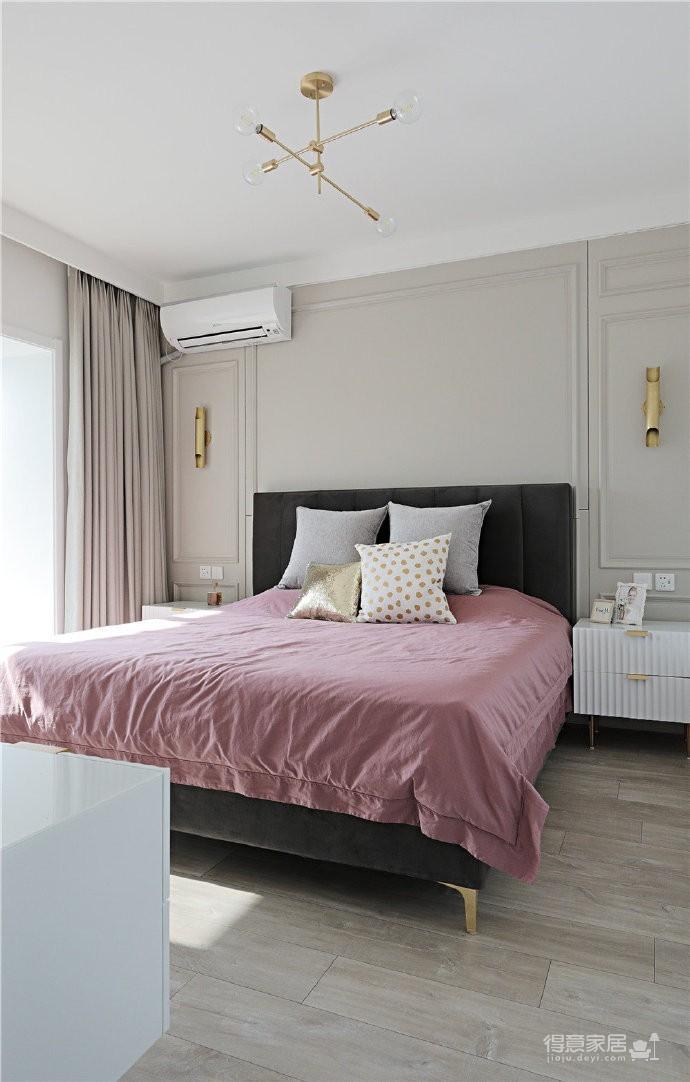 82平混搭家,各种元素的组合,既有北欧的温馨与舒适,又有法式的浪漫与别致图_6