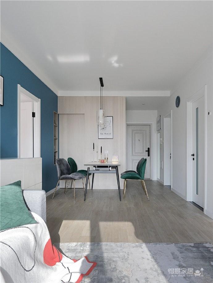 82平混搭家,各种元素的组合,既有北欧的温馨与舒适,又有法式的浪漫与别致
