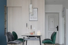 82平混搭家,各种元素的组合,既有北欧的温馨与舒适,又有法式的浪漫与别致图_7