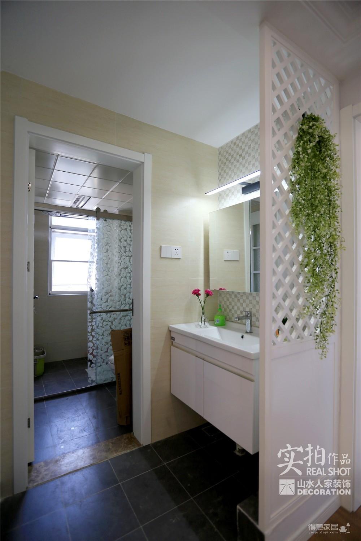 保利公园九里三室两厅126平混搭
