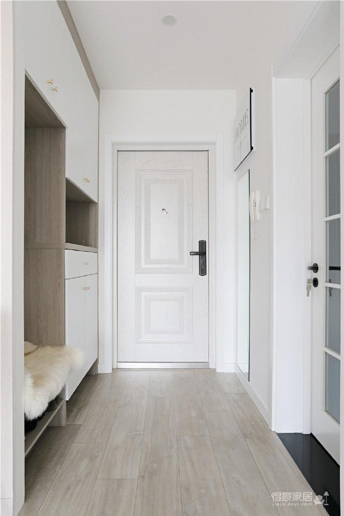82平混搭家,各种元素的组合,既有北欧的温馨与舒适,又有法式的浪漫与别致图_2