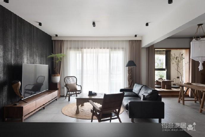 岁月安好静默如初,这里是恬拾。面积:130平米,户型:三居室,风格:混搭风图_1