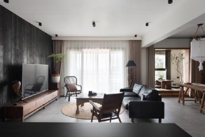 岁月安好静默如初,这里是恬拾。面积:130平米,户型:三居室,风格:混搭风