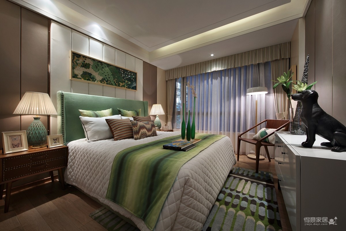 超梦幻的卧室软装,超享受的休憩生活图_22