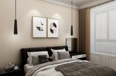 这是2个年轻人的爱巢,设计风格采用了年轻人最爱的灰白灰现代简约风格,没有过多的的颜色却华丽而舒适。图_3