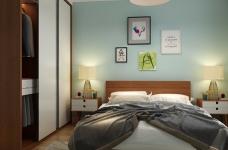 整个设计给人以温馨,安稳的感受,更加适宜休息。图_5