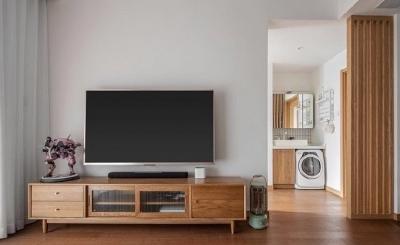 80平小套三装成日式风格最合适不过,整体设计感觉特别的温馨,让家填满原木自然的味道