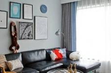 89㎡北欧风格家居装修设计,时尚简洁又不失温馨自然! 图_3