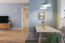 90㎡简约北欧风格家居装修设计,清新自然的室内氛围让人非常安静,很棒的住宅空间! 图_9