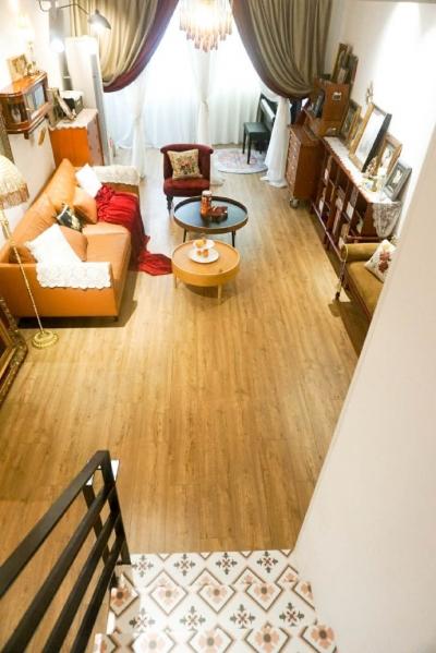 115平混搭风,二手老房改造清新之家