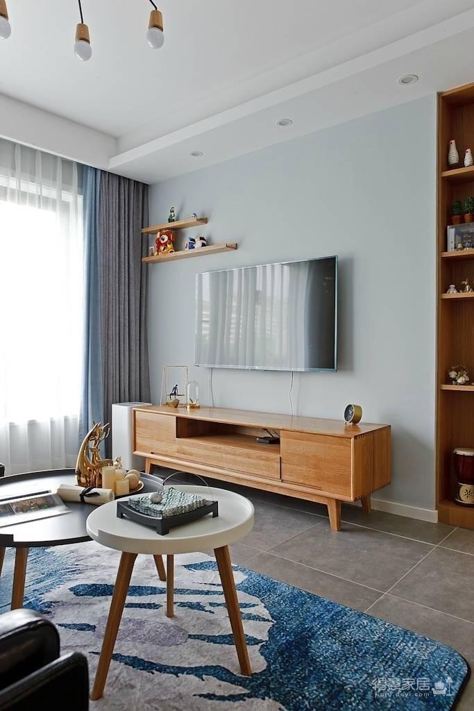 89㎡北欧风格家居装修设计,时尚简洁又不失温馨自然! 图_5