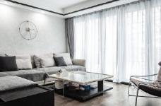 """180现代简约风,黑白灰是整个房屋的主色调,很好的满足了业主""""冷静理智""""的空间需求图_3"""