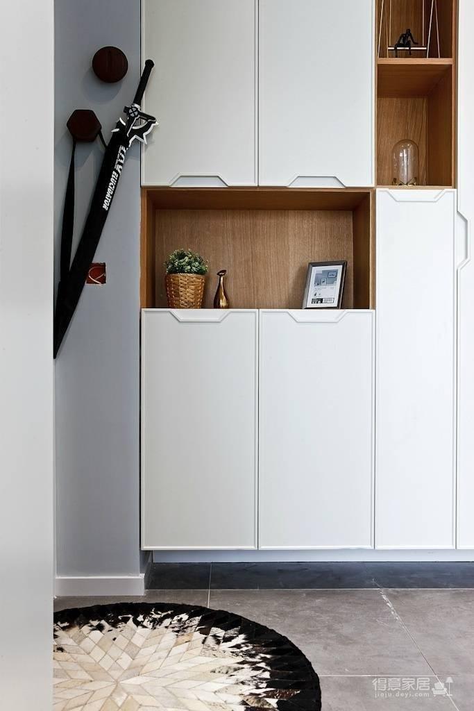89㎡北欧风格家居装修设计,时尚简洁又不失温馨自然! 图_2