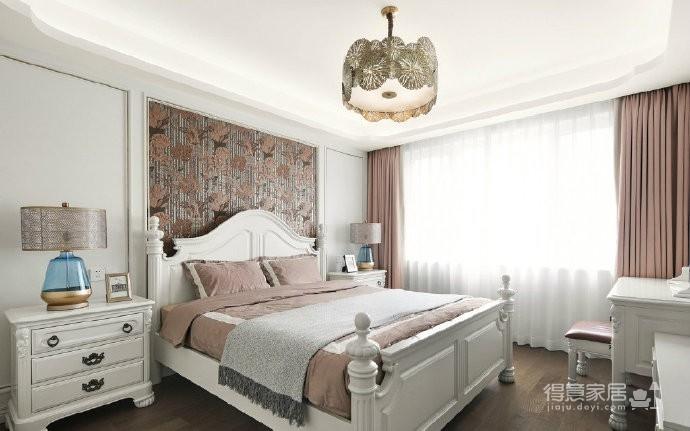 一套经典美式轻奢风三居室设计,一起来感受一下精致优雅之美! 