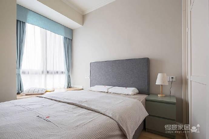 90㎡简约北欧风格家居装修设计,清新自然的室内氛围让人非常安静,很棒的住宅空间! 图_6