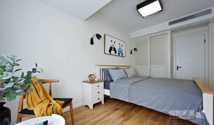 89㎡北欧风格家居装修设计,时尚简洁又不失温馨自然! 图_8