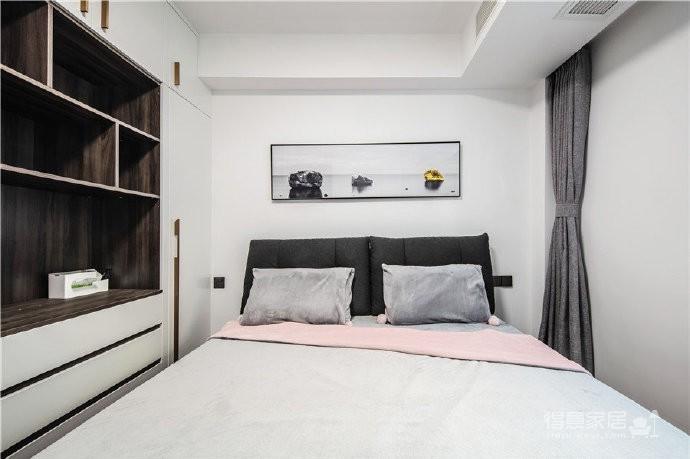 """180现代简约风,黑白灰是整个房屋的主色调,很好的满足了业主""""冷静理智""""的空间需求图_4"""