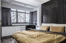 """180现代简约风,黑白灰是整个房屋的主色调,很好的满足了业主""""冷静理智""""的空间需求图_5"""
