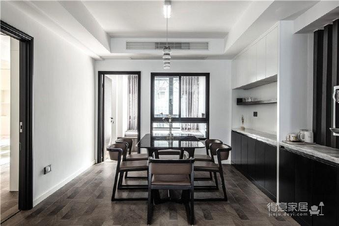 """180现代简约风,黑白灰是整个房屋的主色调,很好的满足了业主""""冷静理智""""的空间需求图_6"""