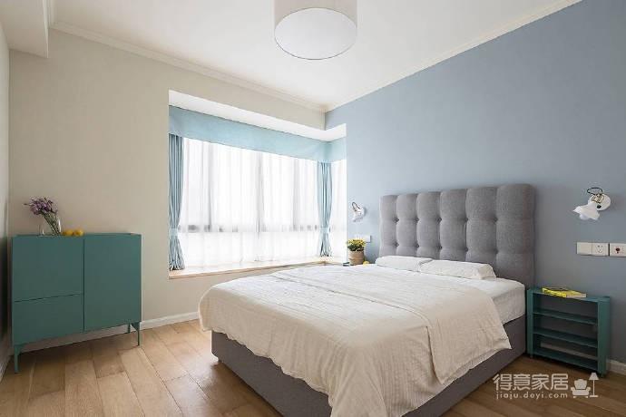 90㎡简约北欧风格家居装修设计,清新自然的室内氛围让人非常安静,很棒的住宅空间! 图_8