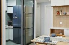 89㎡北欧风格家居装修设计,时尚简洁又不失温馨自然! 图_4