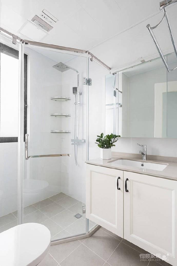 90㎡简约北欧风格家居装修设计,清新自然的室内氛围让人非常安静,很棒的住宅空间! 图_7