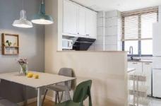 90㎡简约北欧风格家居装修设计,清新自然的室内氛围让人非常安静,很棒的住宅空间! 图_4