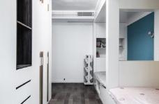 """180现代简约风,黑白灰是整个房屋的主色调,很好的满足了业主""""冷静理智""""的空间需求图_9"""