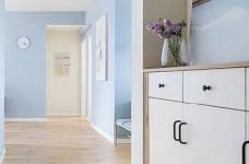 90㎡简约北欧风格家居装修设计,清新自然的室内氛围让人非常安静,很棒的住宅空间! 图_3