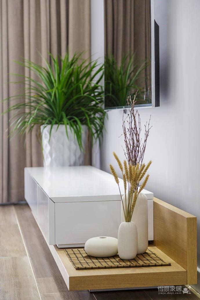 92㎡日式与北欧风格混搭的家居装修设计案例!图_4