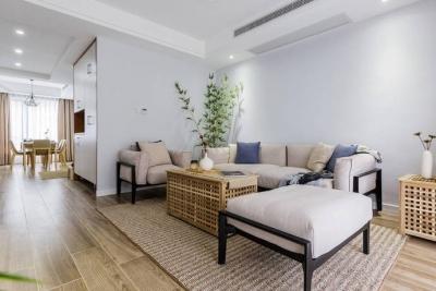 92㎡日式与北欧风格混搭的家居装修设计案例!