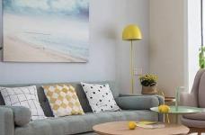 90㎡简约北欧风格家居装修设计,清新自然的室内氛围让人非常安静,很棒的住宅空间! 图_2