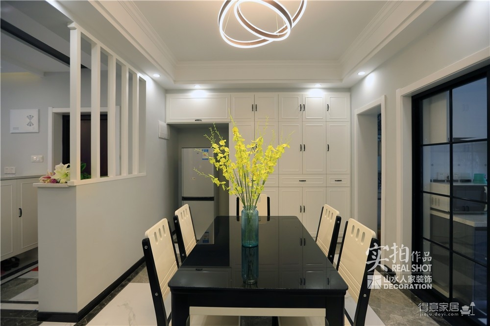 旧房改造118平三室两厅简约图_12