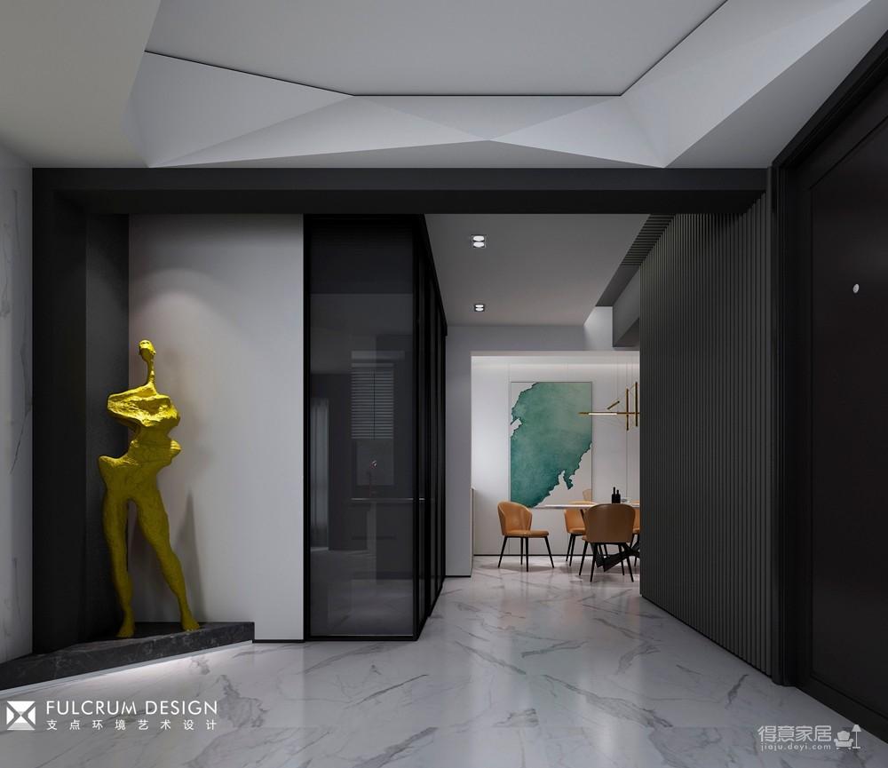 南湖时尚城——203平现代风格图_2