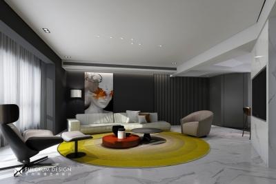 南湖时尚城——203平现代风格