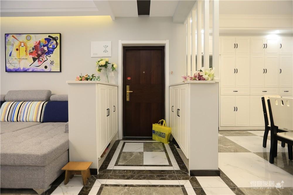 旧房改造118平三室两厅简约图_7