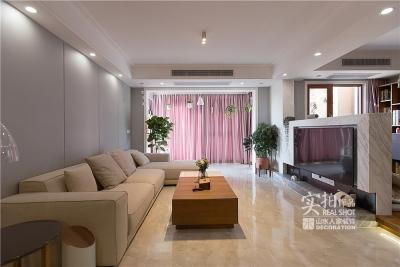 120平四室两厅现代简约混搭风