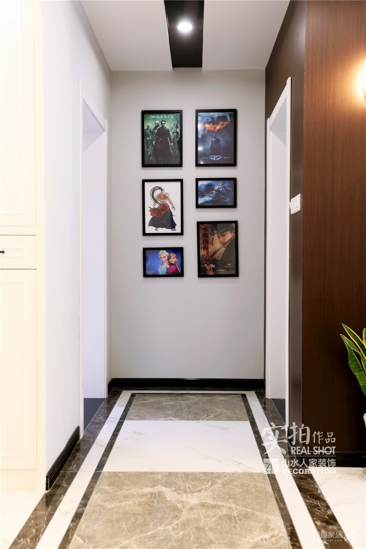 旧房改造118平三室两厅简约图_3