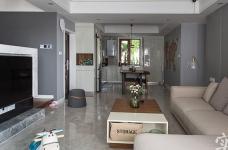 120平四室两厅现代简约混搭风图_8
