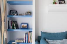 圆拱门让生活更有情调,还有一半书房一半卧室,办公生活两不误图_8
