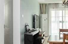 圆拱门让生活更有情调,还有一半书房一半卧室,办公生活两不误图_4