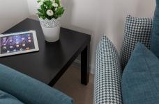 圆拱门让生活更有情调,还有一半书房一半卧室,办公生活两不误图_9