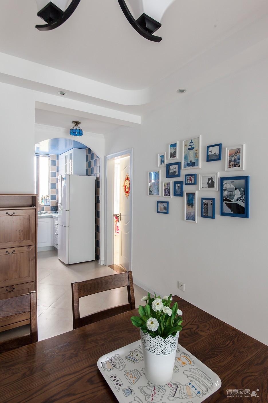 圆拱门让生活更有情调,还有一半书房一半卧室,办公生活两不误图_18