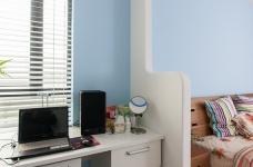 圆拱门让生活更有情调,还有一半书房一半卧室,办公生活两不误图_16
