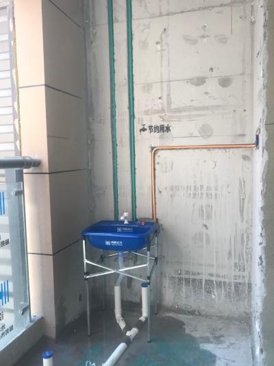 中建大公馆水电施工