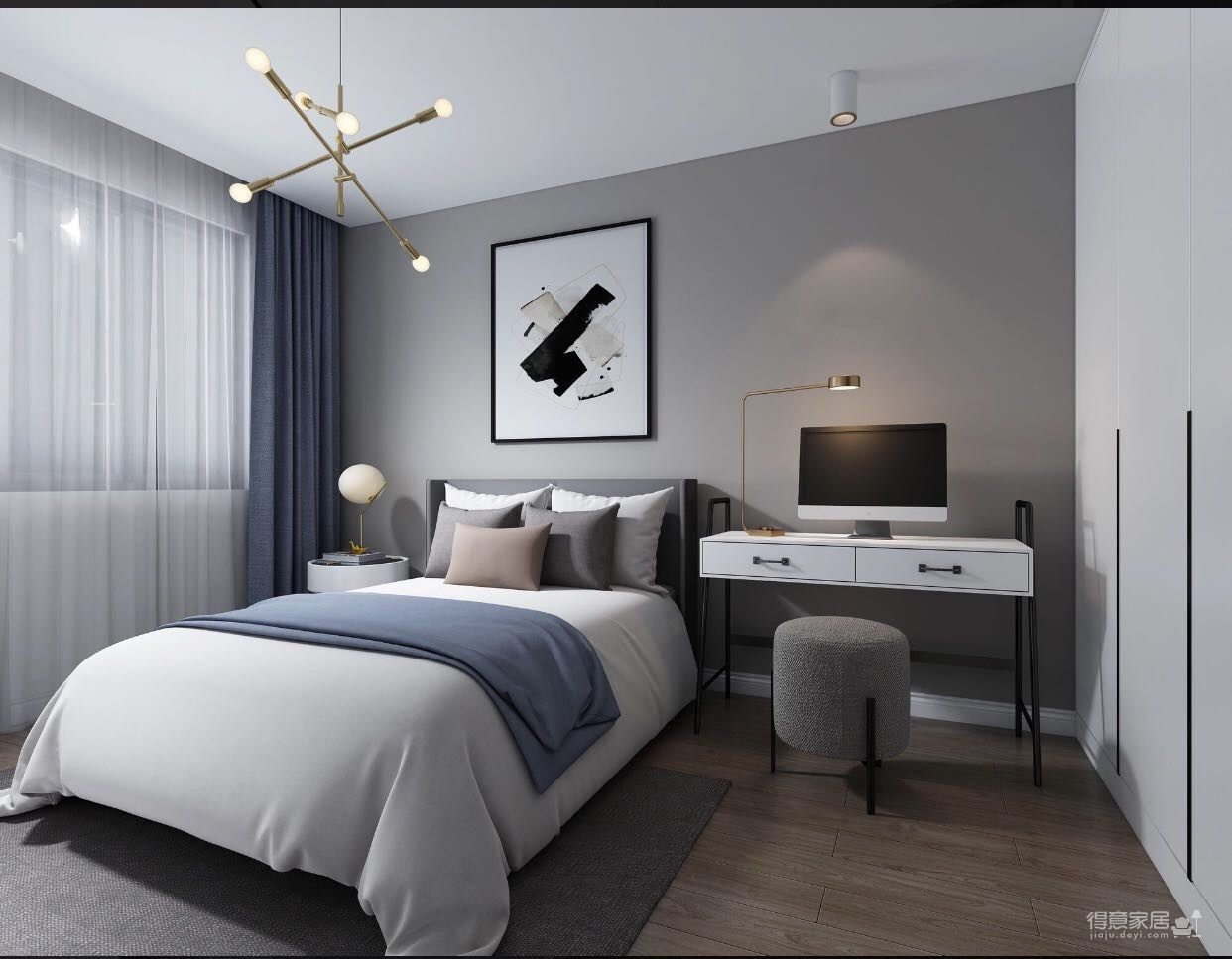 嘎纳印象145平米-现代简约-舒适的现代生活