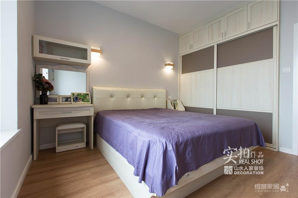 温馨现代104平三室两厅图_5