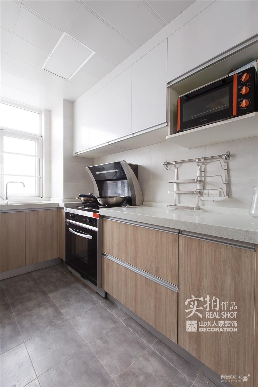 温馨现代104平三室两厅图_7